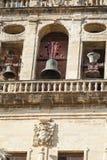 CORDOBA - SPANIEN - 10. JUNI 2016: Schleppseil Old Torre Del Alminar Bell Stockbild