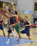 CORDOBA, SPANJE - SEPTEMBER 14: BERNI RODRIGUEZ G (41) in actie tijdens gelijke FC Barcelona (b) versus CITIZENS BAND Sevilla (G) Stock Foto's