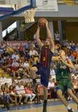 CORDOBA, SPANJE - SEPTEMBER 14: JUSTIN DOELLMAN B (5) in actie tijdens gelijke FC Barcelona (b) versus CITIZENS BAND Sevilla (G)  Stock Foto