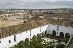 Cordoba view. From the fortification walls Royalty Free Stock Image