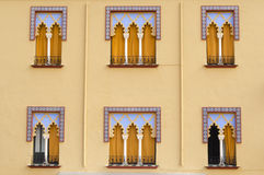 Cordoba wall. Arabic architecture in Cordoba, Spain. Detail Royalty Free Stock Images
