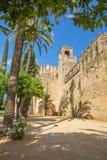 Cordoba - walls of palace Alcazar de los Reyes Cristianos. Stock Photography