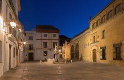 Cordobra -广场del波尔图广场 免版税库存照片