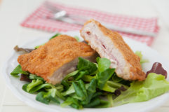 Cordon bleu Stockfoto