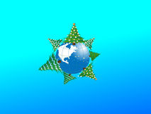 Cordon de Noël. Images libres de droits