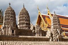 Cordon de Wat Pra Kaeo, Bangkok Thaïlande Images libres de droits