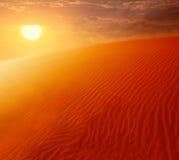 Cordon extrême de désert Image libre de droits