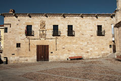 Cordon Palace. Is a site historical in Zamora, Spain Stock Images