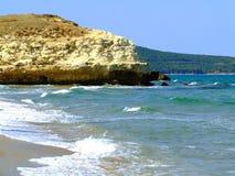 Cordon sur les rivages de la mer Photos libres de droits