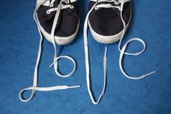Cordones del amor Fotografía de archivo