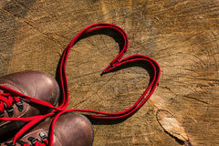 Cordones del amor Imagenes de archivo