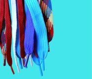 cordones multicolores foto de archivo libre de regalías