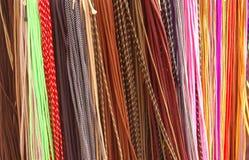 Cordones todos los colores - cintas de zapatos Fotografía de archivo libre de regalías