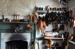 Cordonnier à Williamsburg colonial, la Virginie Photographie stock