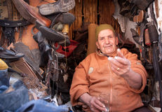 Cordonnier marocain Images libres de droits
