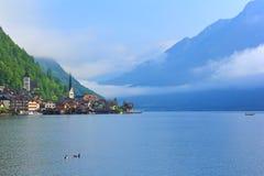 Cordons culturels de Hallstatt-Dachstein/Salzkammergut Image libre de droits