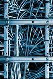 Cordons de correction d'Ethernet Images libres de droits