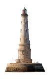 cordouan查出的灯塔 免版税图库摄影