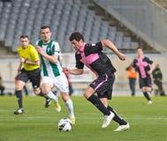 CORDOUE, ESPAGNE - 30 MARS : Eneko Fernandez B (11) dans l'action pendant la ligue Cordoue de match (W) contre Sabadell (b) (3-0) Photographie stock