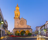 Cordoue - le gothique - église mudejar Iglesia De San Lorenzo photos libres de droits