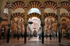 Cordoue mezquita Images stock