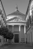 Cordova - chiesa Iglesia de Santa Victoria Fotografia Stock