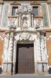 Cordova - portale barrocco della chiesa Convento de la Merced (1716 - 1745) Fotografia Stock