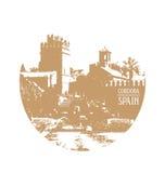 Cordova Spagna Andalusia illustrazione di stock