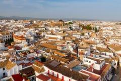 Cordova Vogelperspektive der Stadt lizenzfreie stockbilder