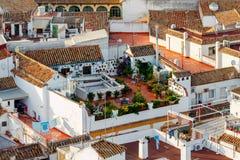 Cordova Vogelperspektive der Stadt lizenzfreie stockfotos