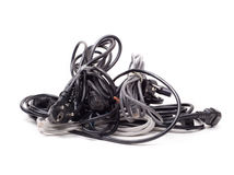 Cords and cables Royalty Free Stock Image