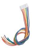 cords white Royaltyfri Bild