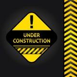 Corduroy black background, under construction. Vector design Royalty Free Illustration