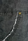 Corduroy pants detail Stock Image