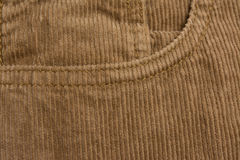 Corduroy pants Royalty Free Stock Images