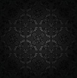 Corduroy texture dark background, ornamental fabric Stock Photos