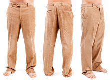 Corduroy trousers Royalty Free Stock Image