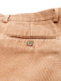 Corduroy trousers. On white background Royalty Free Stock Photography