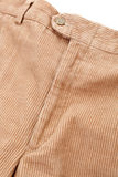 Corduroy trousers. On white background Royalty Free Stock Images