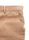 Corduroy trousers. On white background Stock Images