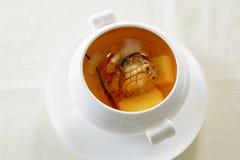 Cordyceps abalone soup Stock Photos