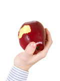 Core of an Apple Royalty Free Stock Images