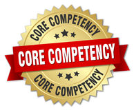 Core competency badge Royalty Free Stock Image