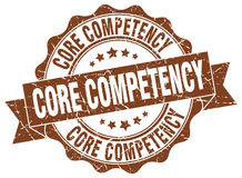 Core competency stamp Stock Image