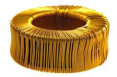 Core of copper wire Stock Photos