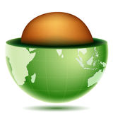 Core of globe Stock Photos