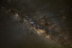Core of Milky Way. Galactic center of the milky way Stock Photos