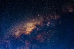 The core of the Milky Way Royalty Free Stock Photos