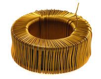 Core Of Copper Wire Royalty Free Stock Photos