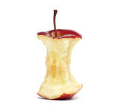 Core of a Red Apple Stock Photography